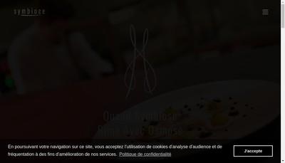 Site internet de Symbiose