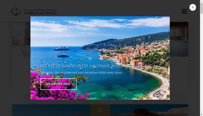 Site internet de Symboles de France