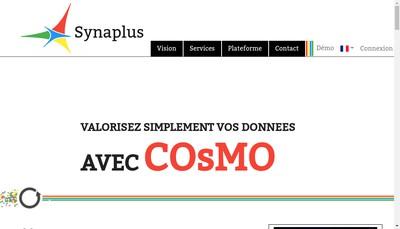 Site internet de Synaplus