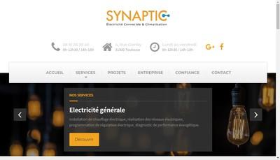 Site internet de Synaptic