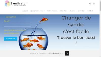 Site internet de Syndicalur