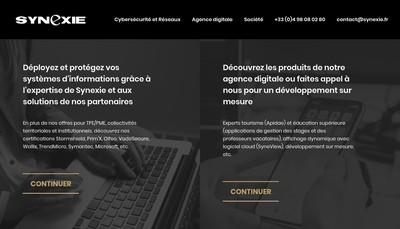 Site internet de Synexie