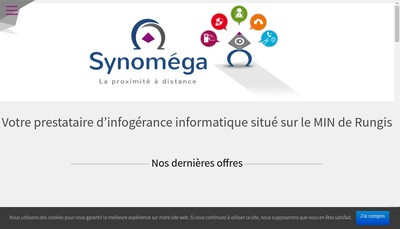 Site internet de Synomega