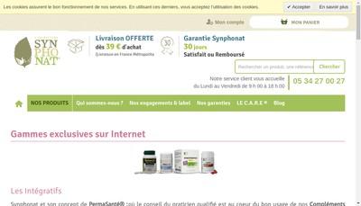 Site internet de Symphonat - Loginat