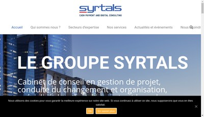 Site internet de Syrtals System Integration