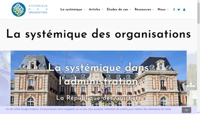 Site internet de Systemique Appliquee