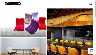 Site internet de Tabisso Lounge Furniture