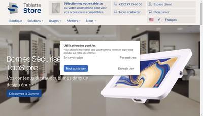 Site internet de Tablette Store