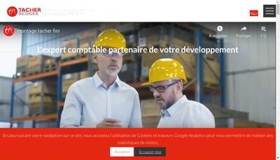 Site internet de Tacher Acogex