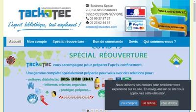 Site internet de Tackotec