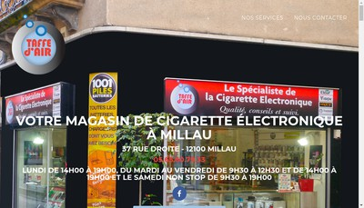 Site internet de Taffe d'Air