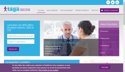 Site internet de Taga Medical