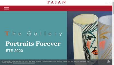 Site internet de Tajan
