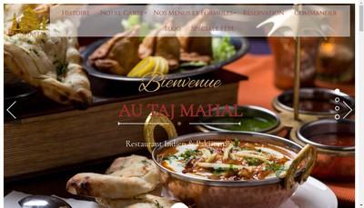 Site internet de Taj Mahal
