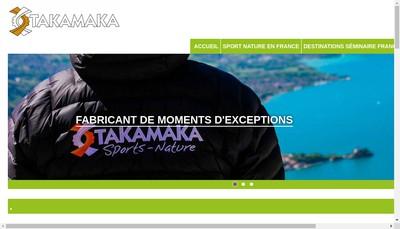 Site internet de Takamaka Bordeaux