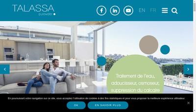Site internet de Aquaeva Services