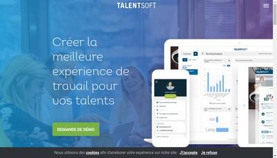 Site internet de Talentsoft