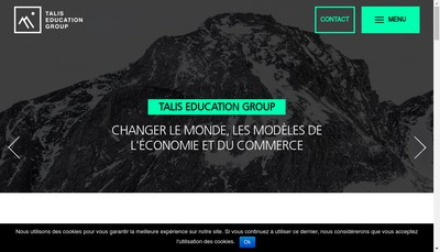 Site internet de Talis Education Group