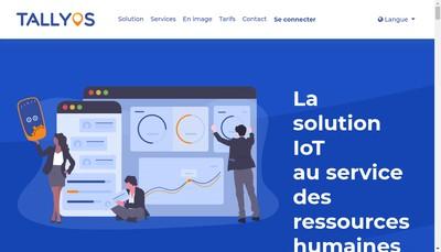 Site internet de Tallyos France