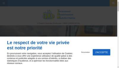 Site internet de Terrassement Assainissement Machefert