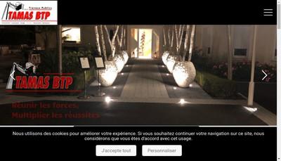 Site internet de Tamas Btp