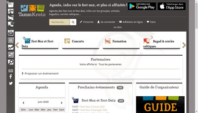 Site internet de Association Tamm Kreiz