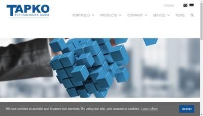Site internet de Gosse & Tech Tapko