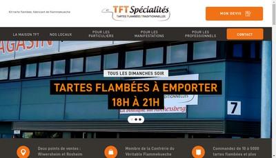 Site internet de TFT Specialites