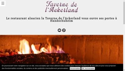 Site internet de Taverne de l'Ackerland