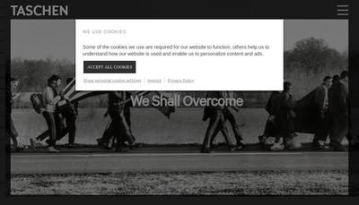 Site internet de Taschen France