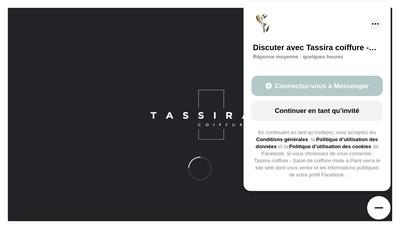 Site internet de Tassira Coiffure