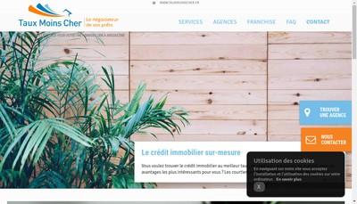 Site internet de Taux Moins Cher