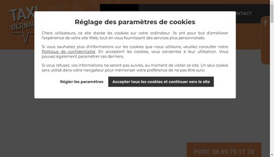 Site internet de Frederic Bernard
