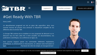 Site internet de Tbr France - Tbr Group - Groupe Tbr