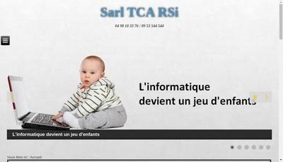 Site internet de SARL Tca Rsi