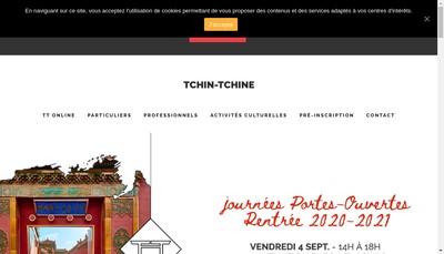 Site internet de Tchin Tchin