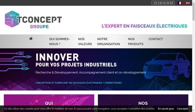 Site internet de T Concept