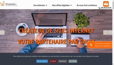 Site internet de Tcp Innovation