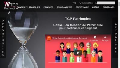 Site internet de Thierry Claeys Patrimoine Tcp