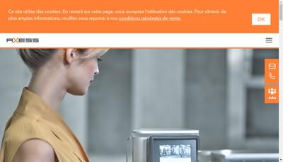Site internet de Teamaxess France
