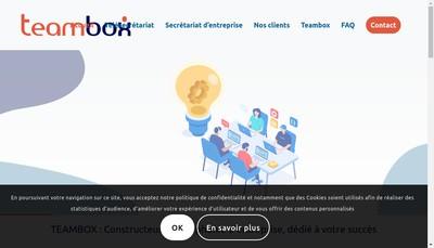 Site internet de Teambox