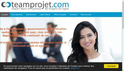 Site internet de Team Projet