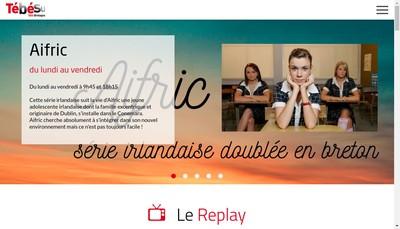 Site internet de Tebesud