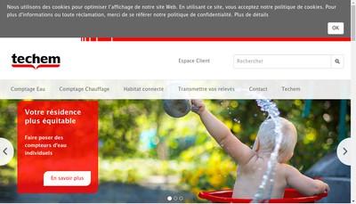 Site internet de Techem SAS