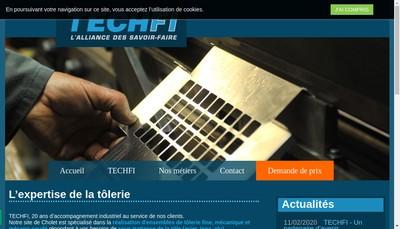 Site internet de Techfi