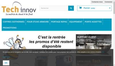 Site internet de Plate Mate France