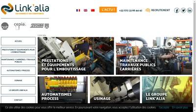Site internet de Techma