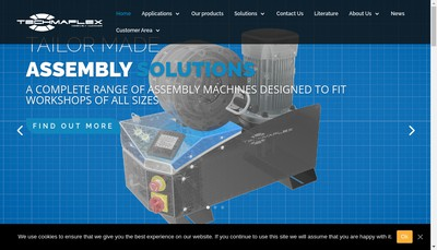 Site internet de Techmaflex