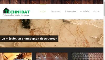 Site internet de Techni-Bat