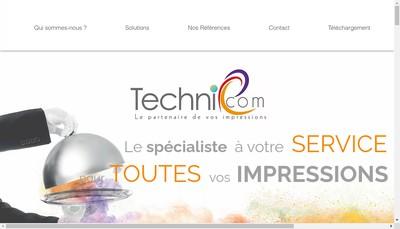 Site internet de Techniphoto